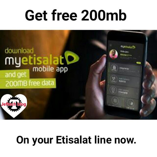 How To Get Free 200mb On Etisalat.