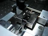 "The Counterbore Precision Measurement Machine is calibrated using a hardened-steel ""taring slug""."