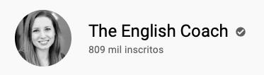 101 canais do YouTube para aprender inglês de graça The English Coach
