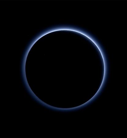 camada de neblina de Plutão