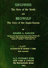 Cover of Zenaide Alexeievna Ragozin's Book Siegfried The Hero of the North And Beowulf The Hero of the Anglo Saxons