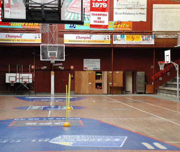 salle de basket old school