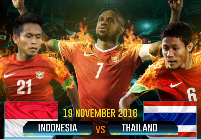 Highlight dan Hasil Pertandingan AFF Suzuki Cup 2016 Indonesia Vs Thailand