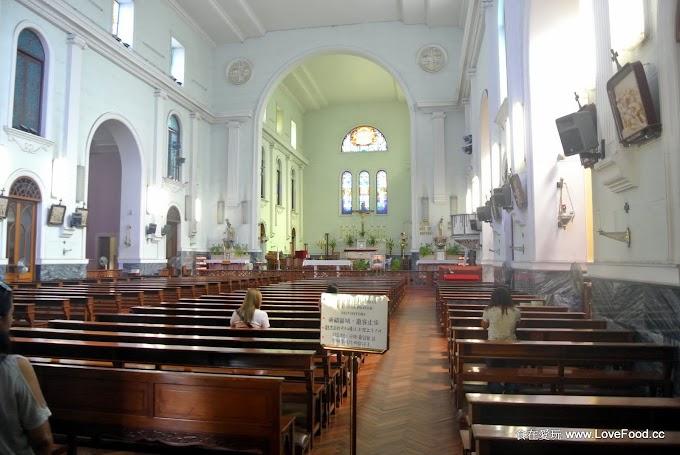 澳門【主教座堂(大堂)】400年歷史、世界遺產蒐入