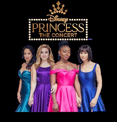 Disney Princess Concert performers Courtney Reed, Christy Altomare, Aisha Jackson, and Susan Egan