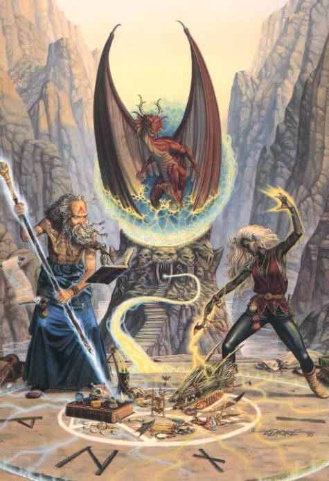 Heaven Of Romantic Magian, Wizards