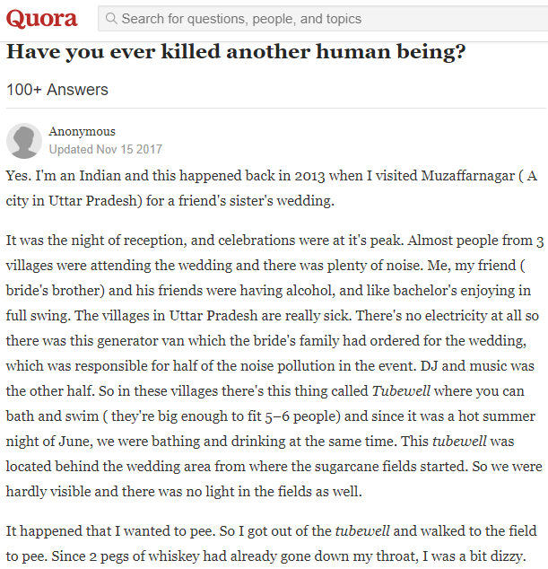 Indian Man's Reason For Killing A Policeman Goes Viral, Sparks Online Debate