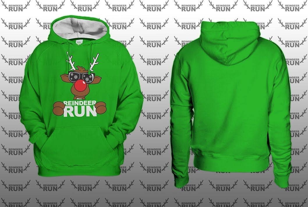 NEW 2019 Reindeer Run Varsity Hoodie