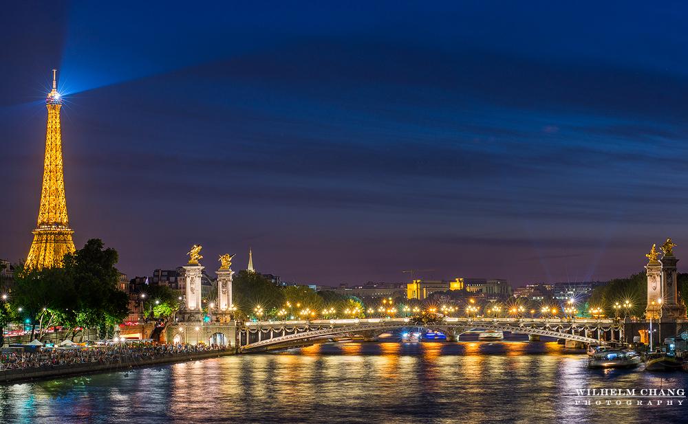 到巴黎攝影 亞歷山大橋 Pont Alexandre III