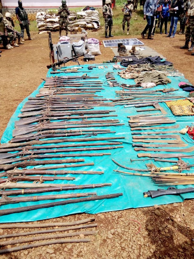 13 separatist fighters killed, weapons seized in operation 'Widi-Bali'