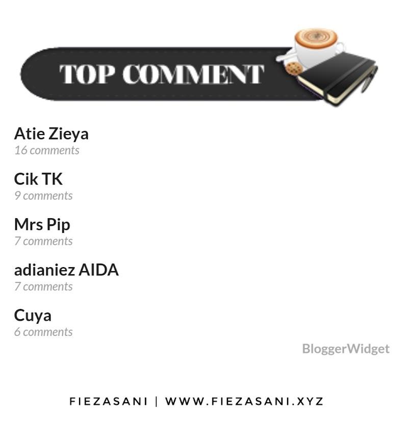 Top Pengomen Blog Bulan November 2020