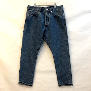 han Selvedge Washed Denim NEW 5 Pocket Jeans