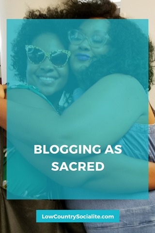 Blogging as Sacred