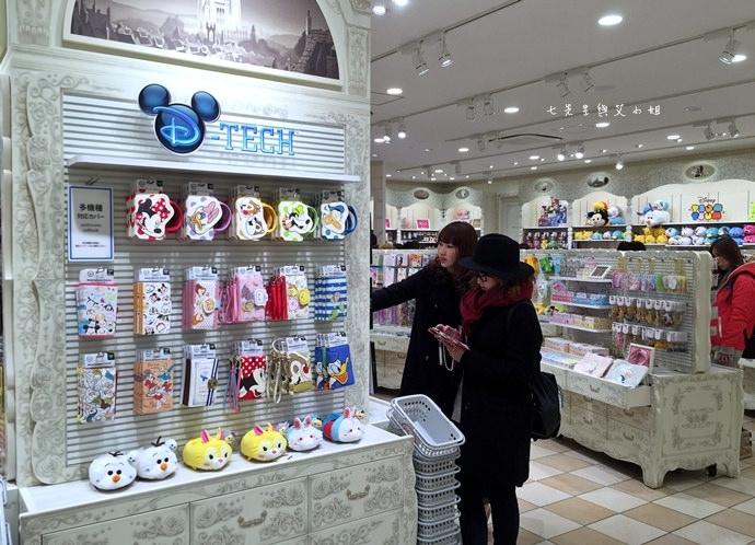 5 日本東京購物原宿白色迪士尼Disney Store