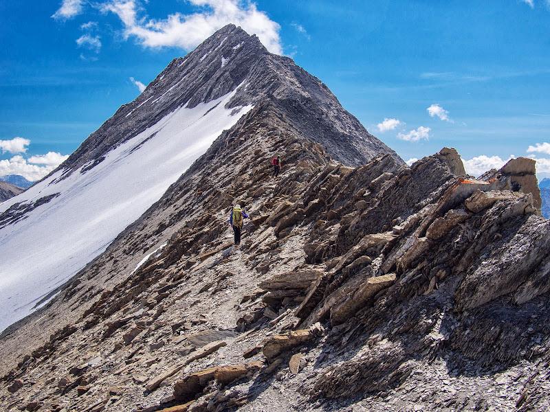Aresta summital de l'Aiguille du Goléon