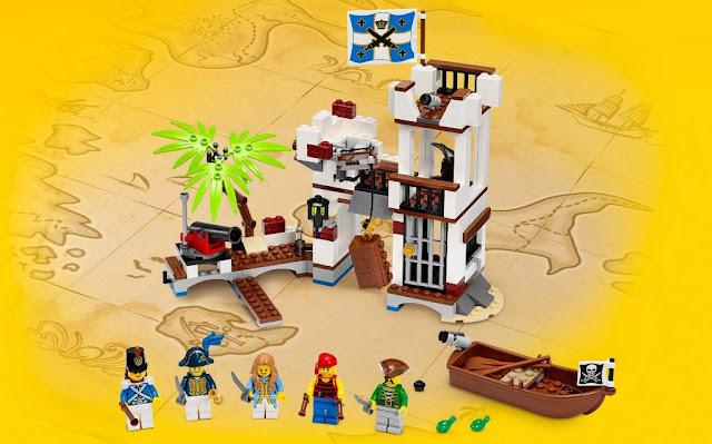 Đồ chơi Lego Pirates 70412 Pháo đài Phòng thủ Soldiers Fort