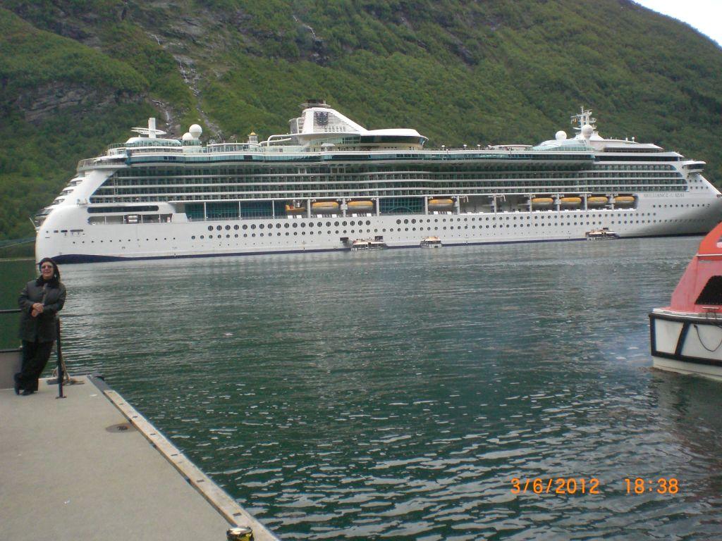 Norveç fiyord gezisi gemimiz