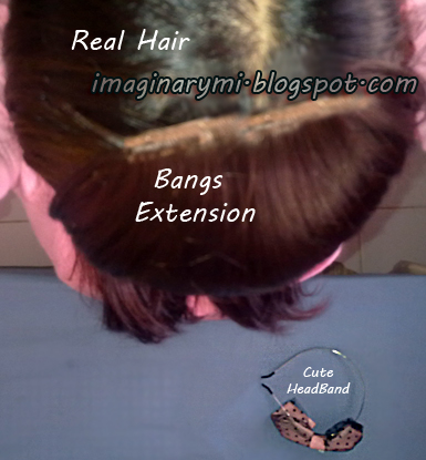 how to put on clip on bangs