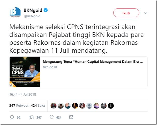mekanisme cpns 2018