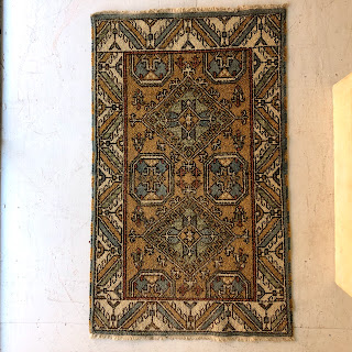 Small Wool Pile Area Rug