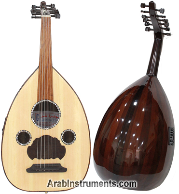 Electric Acoustic Egyptian Oud - Gawharet El Fan