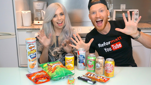 weird american junk foods with Keely Valentine in Miami, Florida, United States