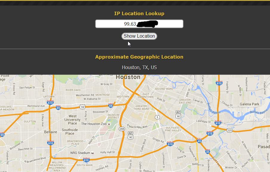 Google maps desktop, wrong location, cannot/will not update