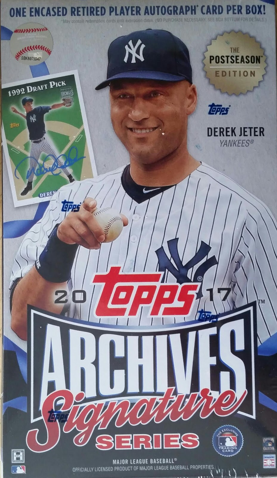 Sport Card Collectors Review2017 Topps Archives Signature Series