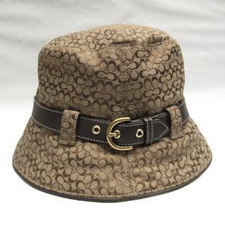 Coach Monogram Bucket Hat