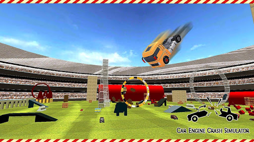 Crash Car Engine Simulator: Junkyard Speed Bumps 1.0 screenshots 15