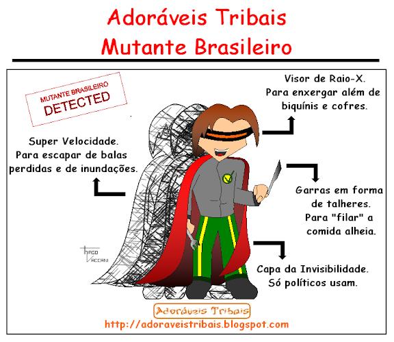 Tirinha 030 - Mutante Brasileiro