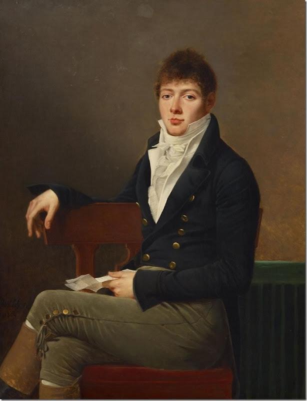 Robert Jacques Francois Lefevre_Portrait of Michael Elias Meyer