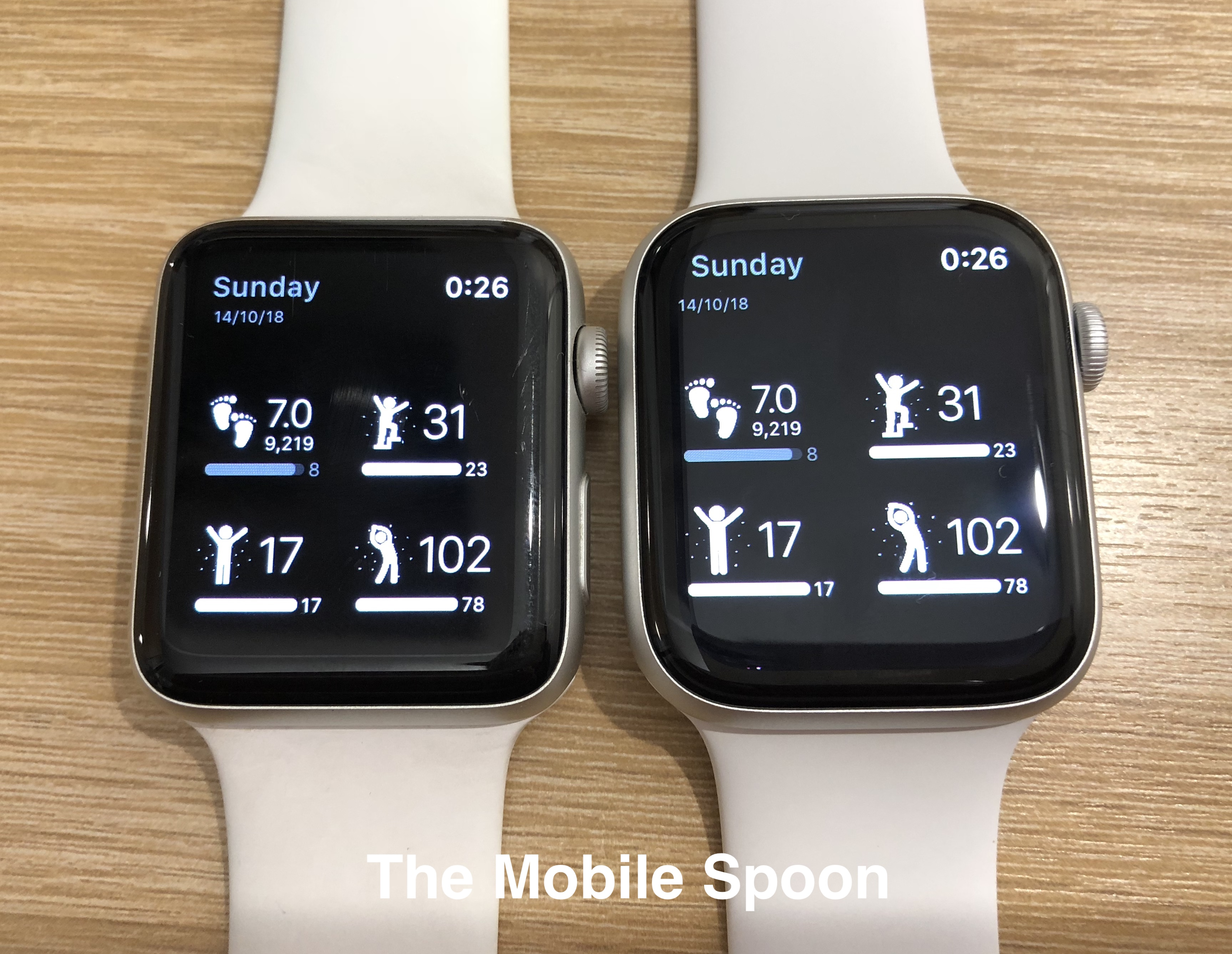 Apple Watch 44mm vs. 42mm - can you tell the difference?