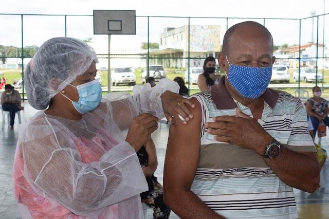Secretaria de Saúde registra 1.130 pessoas vacinadas nessa quinta-feira, já são 14.344 vacinados