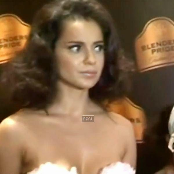 Bollywood queen Kangana Ranaut had a spat with the media during a press conference while promoting her film.