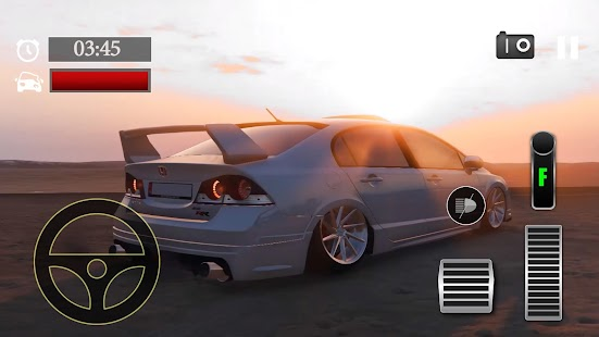 Car Parking Honda Civic FD6 Mugen Simulator - náhled