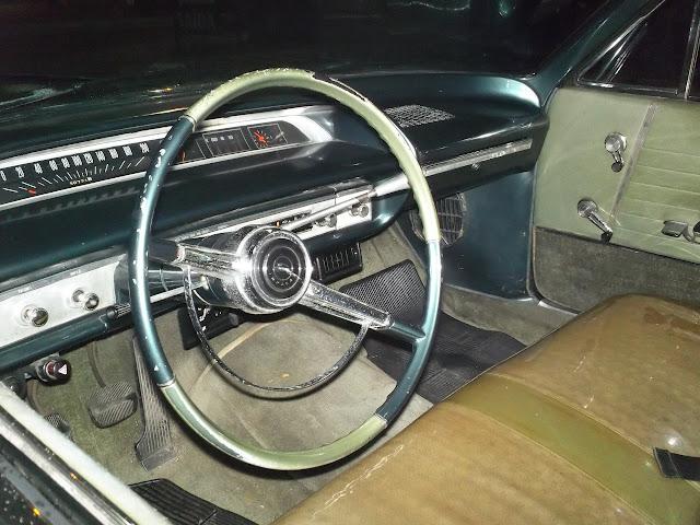 Interior do Impala 1964