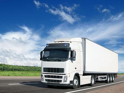 Camión en ruta