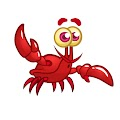 Funny Cartoon Crab Free Download Vector CDR, AI, EPS and PNG Formats