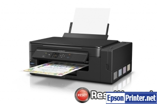 How to reset Epson L495 printer