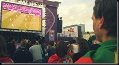 Bandeia ao pescoço no Euro2012