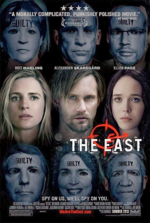 Poster Of English Movie The East (2013) Free Download Full New Hollywood Movie Watch Online At Alldownloads4u.Com