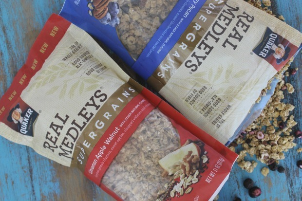 real medleys super grains granola