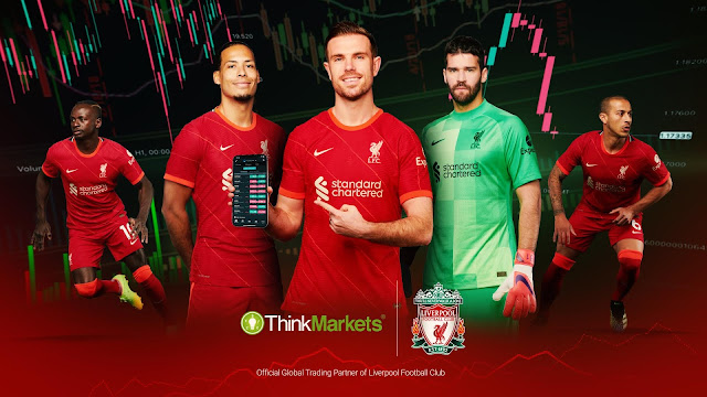 Liverpool FC launches new partnership with ThinkMarkets