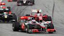 Jenson Button McLaren Mercedes MP4 25