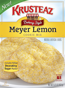 Krustez cookie mix - Meyer Lemon