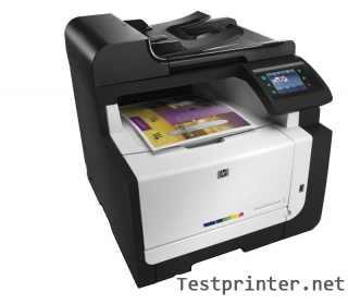 Instructions on down HP LaserJet Pro CM1415fn mfp inkjet printer installer