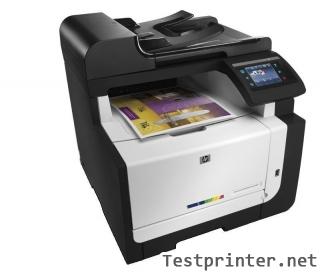 Down HP LaserJet Pro CM1415fn mfp inkjet printer driver program