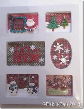 Christmas Sampler Photoframe crafts