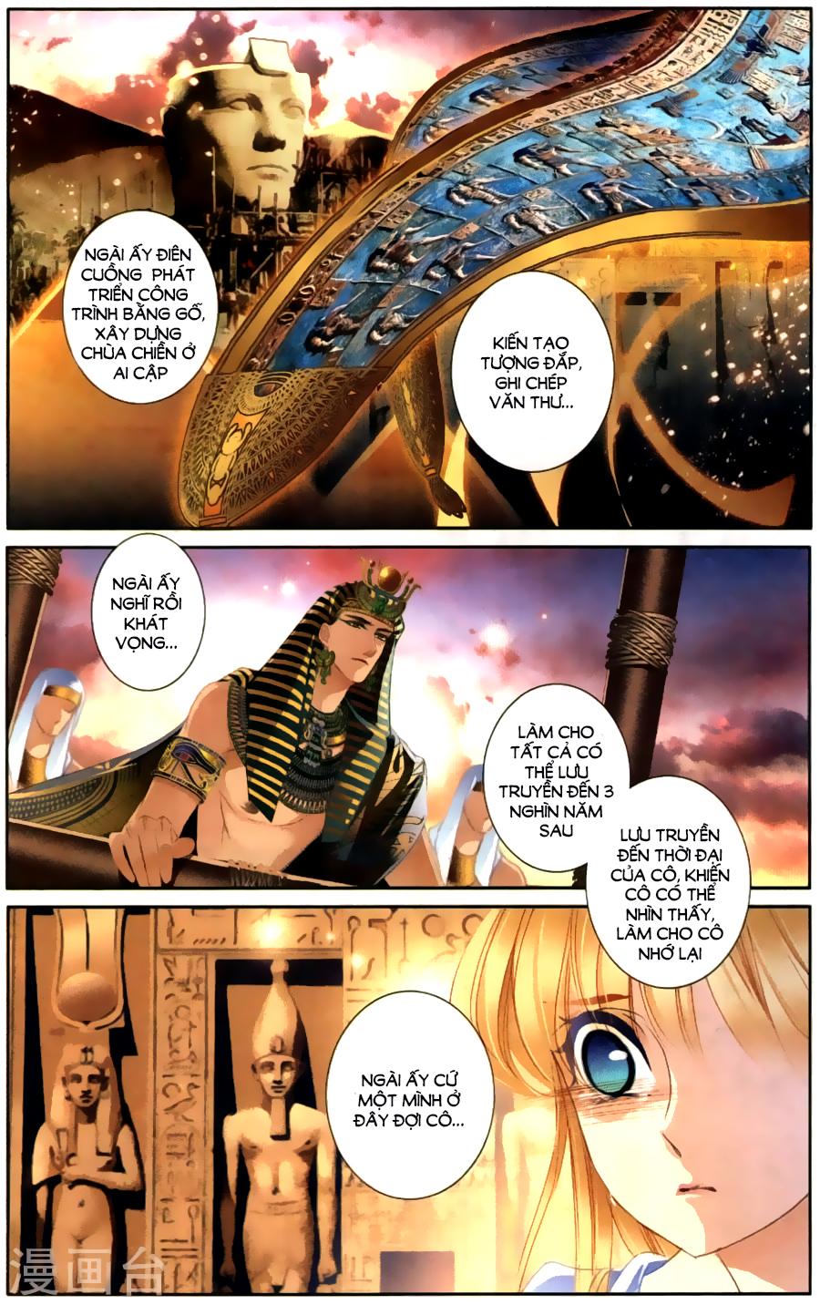 Sủng Phi Của Pharaoh Chap 61
